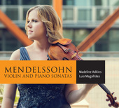 Album artwork for Mendelssohn: Violin Sonatas / Adkins