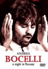 Album artwork for ANDREA BOCELLI A NIGHT IN TUSCANY