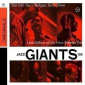 Album artwork for Getz, Mulligan, Peterson: Jazz Giants '58