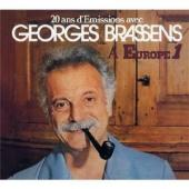 Album artwork for 20 ans d'emissions avec Georges Brassens a Europe