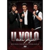 Album artwork for Il Volo: Takes Flight - Live from the Detroit Oper