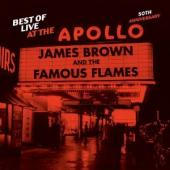 Album artwork for James Brown: Best of Live at the Apollo