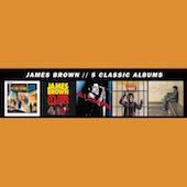 Album artwork for James Brown - 5 Classic Albums (5 CD set)