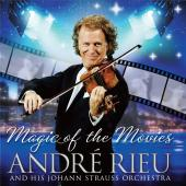 Album artwork for The Magic of the Movies / Andre Rieu (cd & DVD)