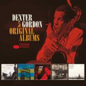 Album artwork for Dexter Gordon - 5 Original Albums