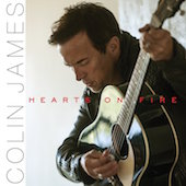 Album artwork for Colin James: Hearts on Fire