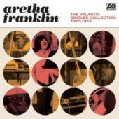 Album artwork for Aretha Franklin - The Atlantic Singles Collection