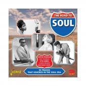 Album artwork for The Road To Soul (2CD - 55 tracks that ushered in