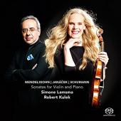 Album artwork for Mendelssohn, Janacek & Schumann - Violin Sonatas