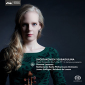 Album artwork for Shostakovich & Gubaidulina: Violin Concertos / Lam