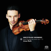 Album artwork for SOLO SONATAS FOR VIOLIN