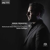 Album artwork for Prokofiev: SYMPHONIES NOS. 1 & 5 / Gaffigan