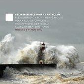 Album artwork for MOTETS & PIANO TRIO