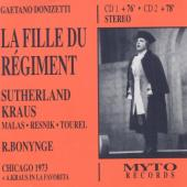 Album artwork for Donizetti: La Fille du Regiment / Sutherland, Krau