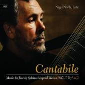 Album artwork for Cantabile: Music for Lute By S. L. Weiss, Vol. 2