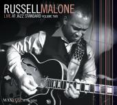 Album artwork for RUSSELL MALONE - LIVE AT JAZZ STANDARD VOLUME TWO