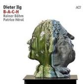 Album artwork for Dieter Ilg - B-A-C-H