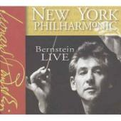 Album artwork for New York Philhamonic: Bernstein Live