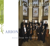 Album artwork for Telemann: Tutti flauti! (Arion, Jaap ter Linden)