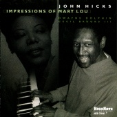 Album artwork for IMPRESSIONS OF MARY LOU - JOHN HICKS