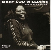 Album artwork for MARY LOU WILLIAMS - LIVE AT THE KEYSTONE CORNER