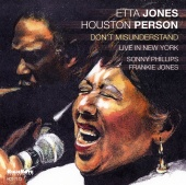 Album artwork for ETTA JONES AND HOUSTON PERSON DON'T MISUNDERSTAND