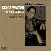 Album artwork for Reliving the Moment - Live. Cedar Walton