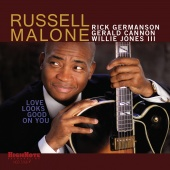 Album artwork for Love Looks Good On You. Russell Malone