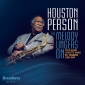 Album artwork for The Melody Lingers On. Houston Person