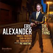 Album artwork for The Real Thing. Eric Alexander