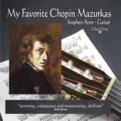 Album artwork for MY FAVORITE CHOPIN MAZURKAS