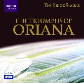 Album artwork for KING'S SINGERS - THE TRIUMPHS OF ORIANA