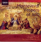 Album artwork for Monteverdi: Vespers of 1610 / Alwood