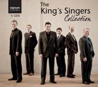 Album artwork for The King's Singers Collection (5CD box set)