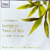 Album artwork for Mark Padmore: Songs in Time of War