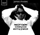 Album artwork for James Rhodes: razor blades - little pills - and bi