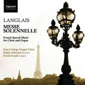 Album artwork for Langlais: Messe Solennelle / Eton College Choir