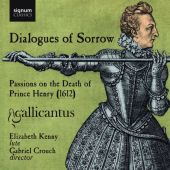 Album artwork for Gallicantus: Dialogues of Sorrow Lute music