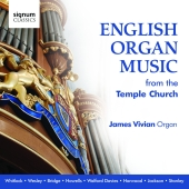 Album artwork for James Vivian: English Organ Music