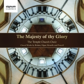 Album artwork for Temple Church Choir: The Majesty of Thy Glory