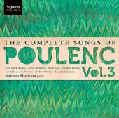 Album artwork for Poulenc: The Complete Songs Vol. 3