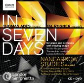 Album artwork for Ades: In Seven Days & Nancarrow Studies
