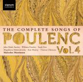 Album artwork for Poulenc: Complete Songs, Vol. 4