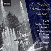 Album artwork for Ravel: Mother Goose & Stravinsky: Rite of Spring