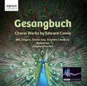 Album artwork for GESANGBUCH - CHORAL WORKS BY E