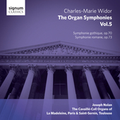 Album artwork for V5: ORGAN SYMPHONIES