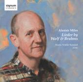 Album artwork for WOLF AND BRAHMS LIEDER