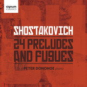 Album artwork for Shostakovich: 24 Preludes & Fugues / Donohoe