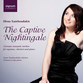 Album artwork for CAPTIVE NIGHTINGALE