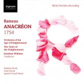 Album artwork for ANACREON 1754